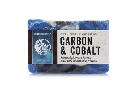 CARBON & COBALT BAR SOAP