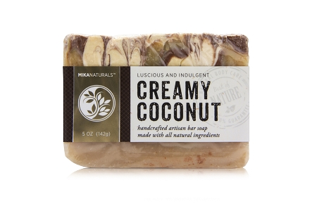 CREAMY COCONUT BAR SOAP