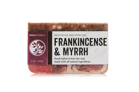 FRANKINCENSE & MYRRH BAR SOAP