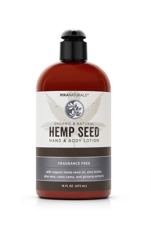FRAGRANCE FREE HEMP SEED HAND & BODY LOTION