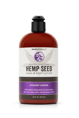 MIDNIGHT JASMINE HEMP SEED HAND & BODY LOTION